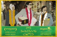 The Darjeeling Limited - The story of three brothers who finally over come their father's death is touching in that Wes Anderson way.