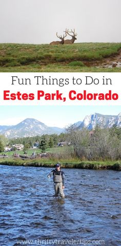 Are you planning a trip to Colorado and Rocky Mountain National Park? If so, you'll want to check out this guide to Estes Park, Colorado. Estes Park is the town right outside the entrance to Rocky Mountain National Park and is the perfect vacation spot. W