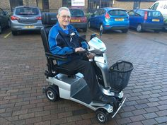 Mr Herriot chose the Quingo Vitess 2 mobility scooter find out which perfect for you with a home test drive here http://contact.quingoscooters.com/social-mobility-scooters