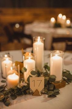 35 On-trend Wedding Table Centerpieces Perfect For A Minimalist Reception Rehearsal Dinner Centerpieces, Dinner Table Centerpieces, Wedding Reception Centerpieces, Wedding Table Settings, Wedding Table Numbers, Minimalist Wedding Reception, Wedding Trends, Wedding Ideas, Tying Knots