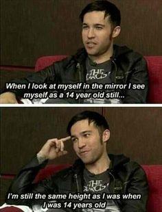 Lol but he is still cute