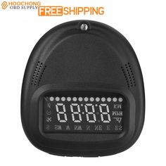 Auto Sleeping Car-styling Car HUD Head Up Display GPS A1 Digital Automobile Speedometer Overspeed Warning Real Time Compass