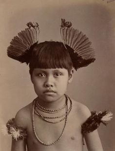 Little boy, Brazilian native, photographed by Marc Ferrez, 1896