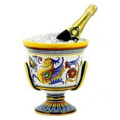 Artistica - Italian Ceramics, Deruta ice bucket