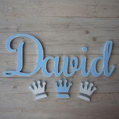 David enlazadao de madera para pegar en la pared