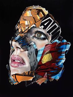 Sandra Chevrier is a Canadian contemporary / pop urban artist, known for her captivating portraits of women from The Cages series. Comic Books Art, Comic Art, Sandra Chevrier, Street Art, Pop Art Wallpaper, Desenho Tattoo, Arte Horror, Arte Pop, Art Sketchbook
