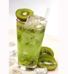 Une detox water au kiwi