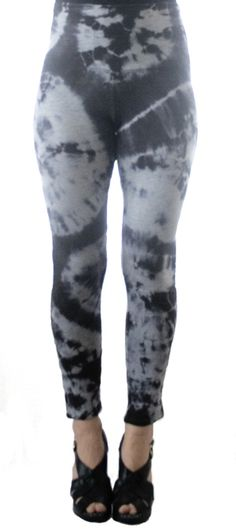 Wow-wow wild leggings!! (via Me & Things I Like & Do) | Rit Dye