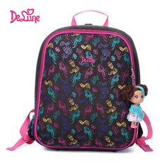 a11f5940e23 Orthopedic Waterproof Children School Bags For Girls Primary Grade Kids  School Backpack Child Birthday Gift Mochila Infantil