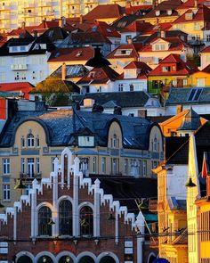 A summer evening in Bergen! Photo: Frode Oen Arntsen