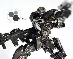 GUNDAM GUY: GUNDAM GUY: READERS FEATURE GUNPLA BUILD - 1/100 Skull Astray Punisher Custom by Kocho Battung
