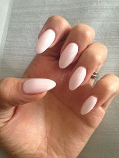 bio sculpture nails almond - Google Search