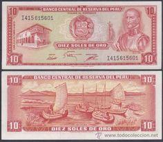 PERU 10 SOLES DE ORO 1975 PICK 106 (SC UNC) - 0,75 €