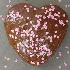 A #glutenfree & #dairyfree Heart-Shaped Cake - The Free From Fairy