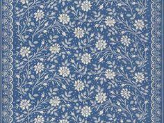 Brunschwig & Fils VERRIERES GLAZED CHINTZ SHADES OF BLUE WHITE BR-70936.222 - Brunschwig & Fils - Bethpage, NY, BR-70936.222,Brunschwig & Fils,Print,Light Blue,S,Up The Bolt,Floral Medium,Multipurpose,USA,Yes,Brunschwig & Fils,VERRIERES GLAZED CHINTZ SHADES OF BLUE WHITE