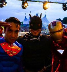 \o/ Superman, Batman & Ironman Live at Tomorrowland 2013 (Laidback Luke, Sander van Doorn & Dimitri Vegas)