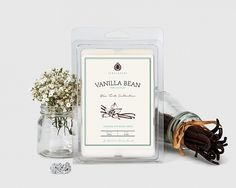 Vanilla Bean Wax Tarts - This classic favorite combines the sweet smoothness of vanilla fragrance with creamy tonka bean accents and soft powdery notes from the heliotrope flower.