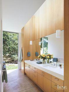 Custom Master Bath in Modernist Sonoma Home
