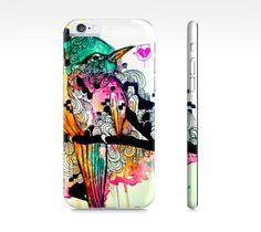 Cute iPhone 6 case  Case for iPhone 6  iPhone 6 by ArtOfPrincessM