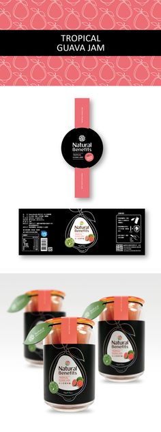 TROPICAL GUAVA JAM Client:Natural Benefits Design company:magic CD: James Chan Designer:Dennis Lin PD
