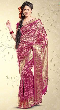 Silk Saree Online | Pure Silk Sarees Online Shopping With Price: Kanchipuram Silk Sarees
