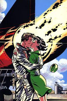 Hal Jordan & Carol Ferris by Darwyn Cooke