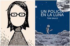 _Un policía en la Luna_. Otra pequeña joya del dibujante Tom Gauld - https://www.actualidadliteratura.com/un-policia-luna-tom-gauld/
