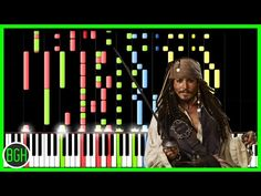 Pirates of the Caribbean Medley [Piano Tutorial] (Synthesia) // Nikodem Lorenz - YouTube