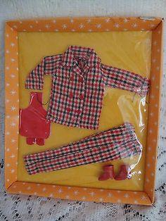 Vintage 1960's Barbie Clone Teen Wardrobe Mod Outfit | eBay