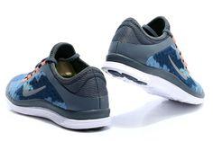 Nike Free 3.0 V7 Mens Light Blue Low Orange Silver Nike Free Run 3 34e408bd96