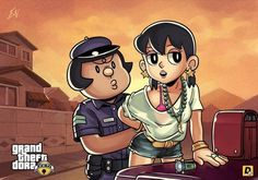 Grand Theft Auto Would Make for a Cute Anime