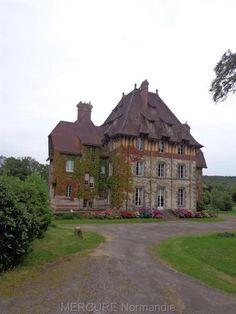La Ferté Macé, en Normandie dans l'Orne, très agréable domaine.  #Normandie #Normandy #purenormandie #france #orne #chateau #architecture #manoir