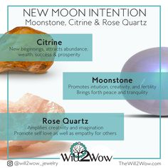 Crystal Healing and Blesssing for the New Moon