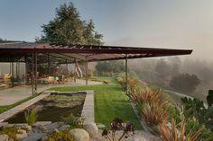 Walker Residence by Rodney Walker, in Ojai, California. US.