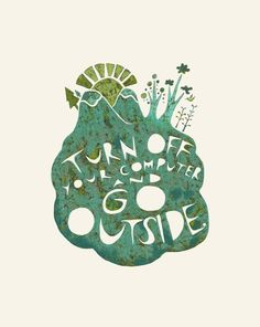 go outside #quote