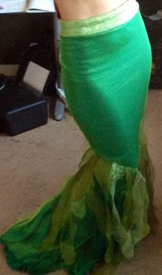 Mermaid tail walking Ariel tail by princesspartyenchant on etsy. Halloween anyone?