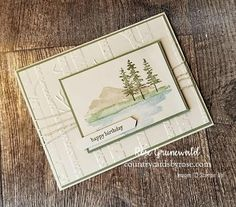 Waterfront from Stampin' Up