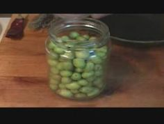 Cómo hacer conserva de olivas
