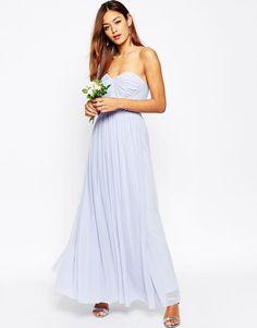ASOS   ASOS WEDDING Multiway Mesh Maxi Dress at ASOS