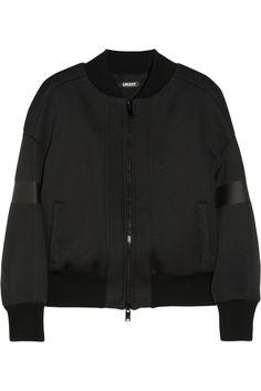 DKNY|Neoprene bomber jacket|NET-A-PORTER.COM