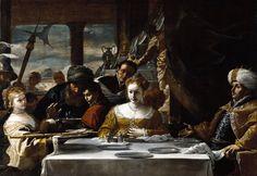 Mattia Preti. The Feast of Herod. 1656-1661.