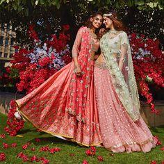 Explore from latest collection of lehengas online. Shop for lehenga choli, wedding lehengas, chaniya choli, ghagra choli & designer lehengas in variety of colors. Indian Wedding Outfits, Bridal Outfits, Indian Outfits, Bridal Dresses, Bridal Lenghas, Bridal Lehenga, Indian Attire, Indian Ethnic Wear, Pakistani Dresses