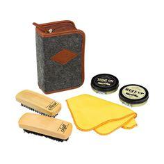 Gentlemen S Hardware Shoe Shine Kit