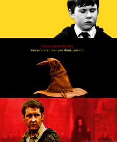 Love Neville and here's why: I love Neville like I love Samwise Gange. They are humble, loyal and true and it is out of those qualities that they become heroic.