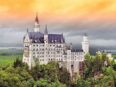 There's no better place to see the amazing architecture of castles than in Europe, from the stone fortresses of the Scottish highlands to the storybook lookalikes of Germany.