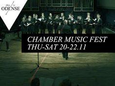 Chamber Music Festival. Kammermusik på #SyddanskUniversitet, #CarlNielsenMuseet, #StudenterhusOdense & #Brandts. #SMKS #Kammermusikfestival #musikkonservatoriet #odense #mitodense #mitaftryk #thisisodense Læs anbefalingen på: www.thisisodense.dk/16262/kammermusikfestival