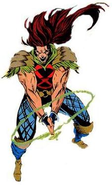 Rictor (Julio Richter) as a member of X-Force