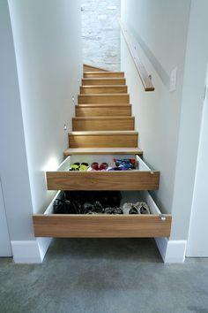 Clever way to create more storage space. #InteriorDecor #DecorInspiration