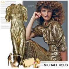 A fashion look from September 2015 by sella103 featuring Michael Kors