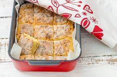 Juustoruudut Scones, Banana Bread, French Toast, Rolls, Food And Drink, Cheese, Baking, Breakfast, Desserts